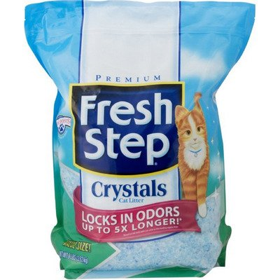 Product Review: Fresh Step Litter Crystals