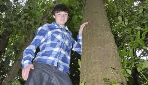 Cat Rescued From 60-Foot Tree By 15 Year-Old