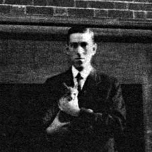 Lovecraft and Felis (Photo Credit: counter-currents.com)