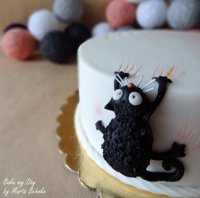 Check Out These 7 Inspirational Cat Cake Ideas