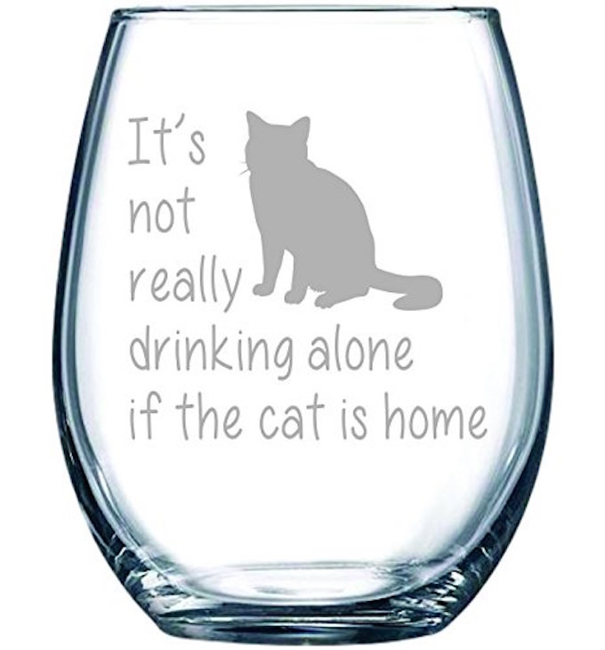 Cat-Wine-Glass