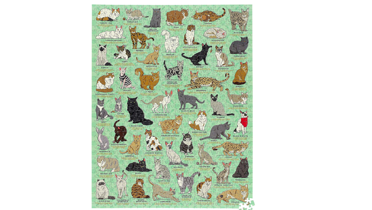 Cat jigsaw puzzle