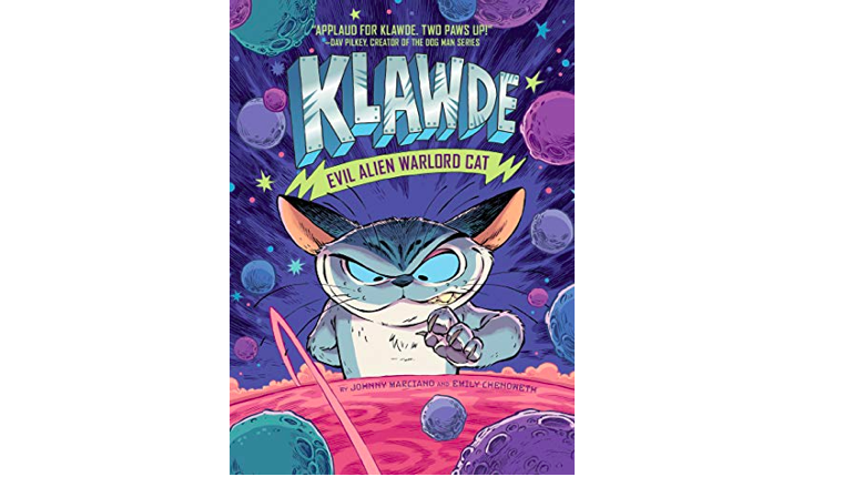 klawde comic book