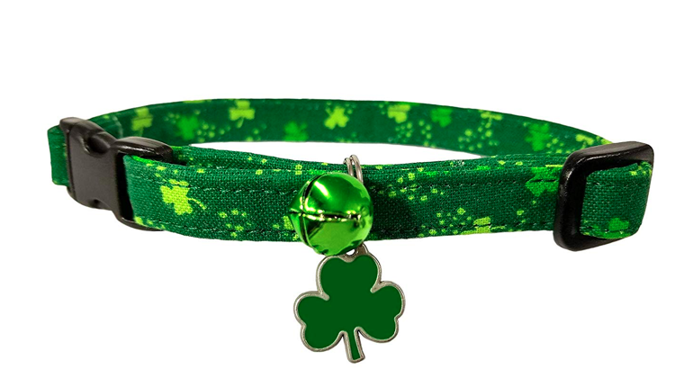 shamrock cat collar